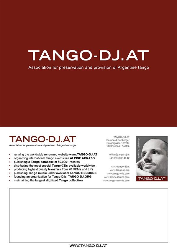 TANGO-DJ AT » TANGO-DJ AT » Tango DJ - Tango CDs - Tango in