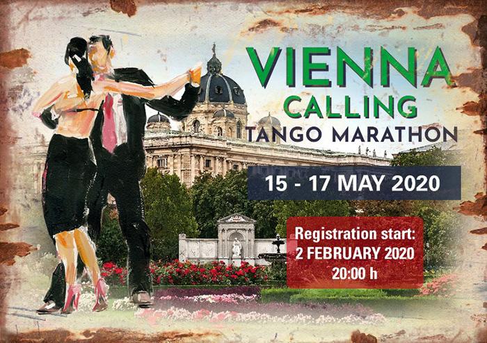 Vienna Calling Tango Marathon 2020 Spring Edition