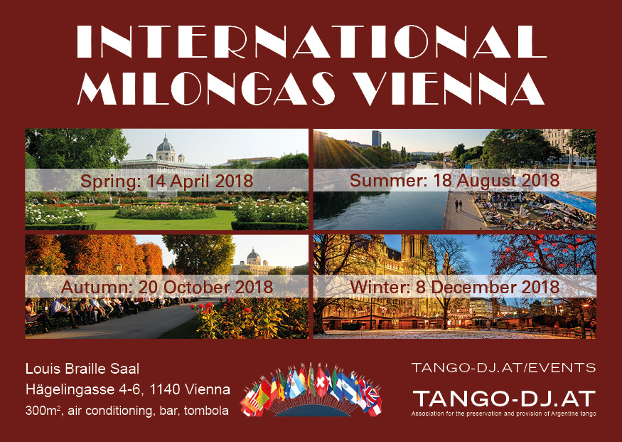 International Milongas 2018