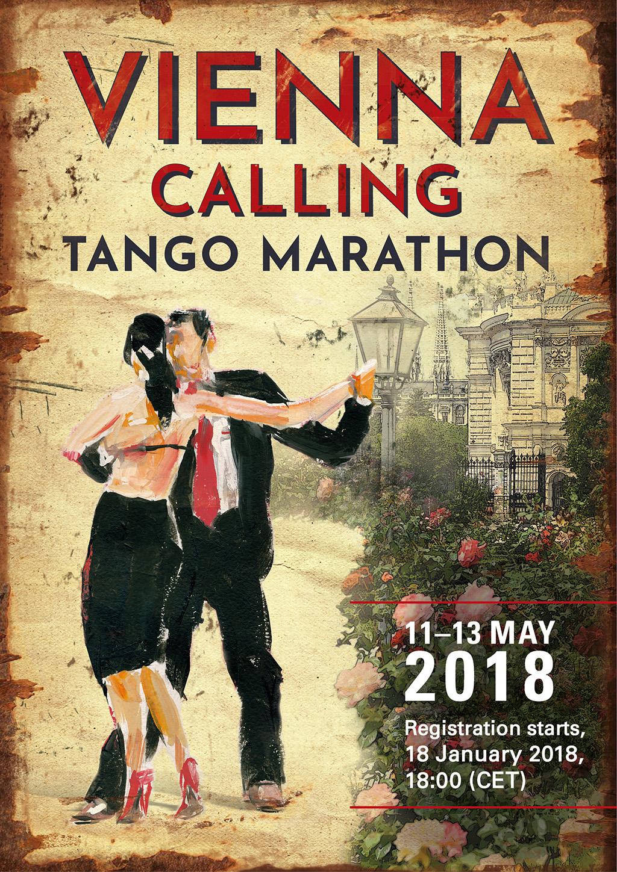 Vienna Calling Tango Marathon 2018 Spring