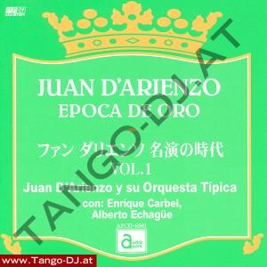 Juan D'Arienzo – Epoca De Oro – Vol. 1 – Audio Park APCD-6501