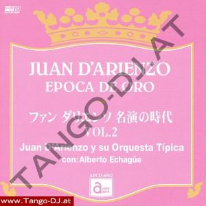 Juan D'Arienzo – Epoca De Oro – Vol. 2 – Audio Park APCD-6502