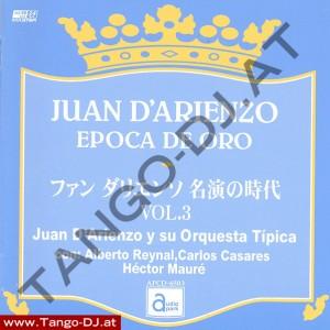 Juan D'Arienzo – Epoca De Oro – Vol. 3 – Audio Park APCD-6503