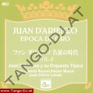Juan D'Arienzo – Epoca De Oro – Vol. 4 – Audio Park APCD-6504