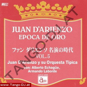 Juan D'Arienzo – Epoca De Oro – Vol. 5 – Audio Park APCD-6505