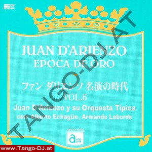 Juan D'Arienzo – Epoca De Oro – Vol. 6 – Audio Park APCD-6506