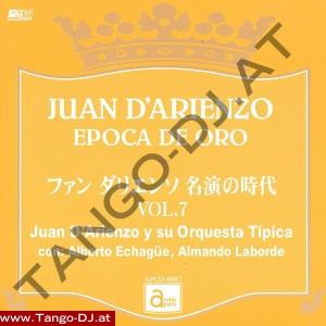 Juan D'Arienzo – Epoca De Oro – Vol. 7 – Audio Park APCD-6507