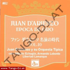Juan D'Arienzo – Epoca De Oro – Vol. 10 – Audio Park APCD-6510