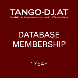 TANGO-DJ.AT Database Membership – 1 Year