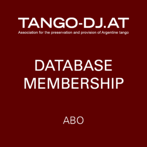 TANGO-DJ.AT Database Membership – Abo