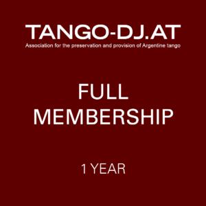 TANGO-DJ.AT Full Membership – 1 Year